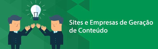Sites e empresas para gerar conteúdo