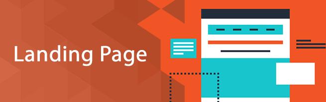 Landing pages conteudo diferenciado para clientes e franqueados