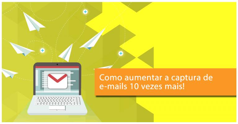 aumentar a captura de e-mails