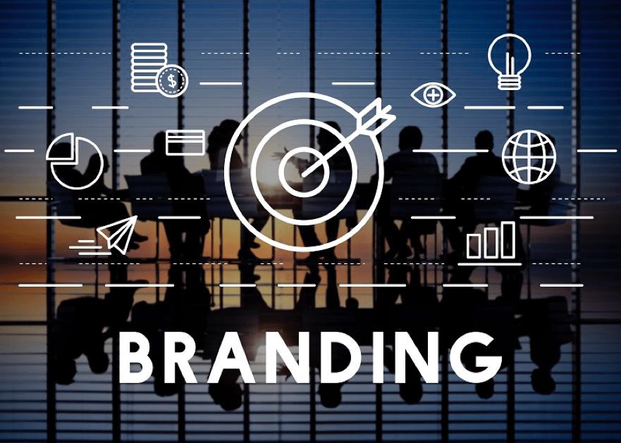 criar um site branding