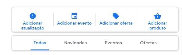 Google Meu Negócio Postagens