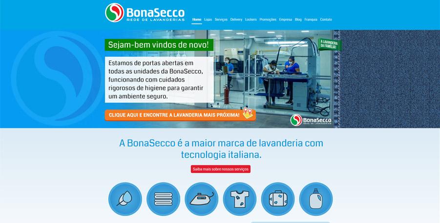 Criação de site bonasecco