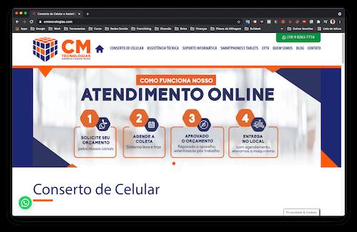 cmtecnologias site