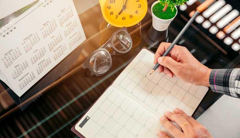 Como montar um cronograma de estudos